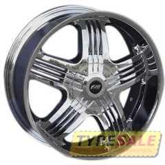 Легковой диск FJB F-326 Chrome - Интернет магазин шин и дисков по минимальным ценам с доставкой по Украине TyreSale.com.ua