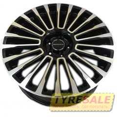 Купить Легковой диск MANSORY MAN1365 BKF R22 W9.5 PCD5x120 ET50 DIA72.6