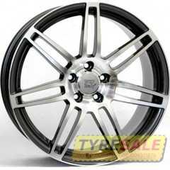 WSP ITALY S8 Cosma Two W557 (Black Polished) - Интернет магазин шин и дисков по минимальным ценам с доставкой по Украине TyreSale.com.ua