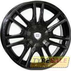 Легковой диск WSP ITALY RIGA W317 DIAMOND BLACK - Интернет магазин шин и дисков по минимальным ценам с доставкой по Украине TyreSale.com.ua