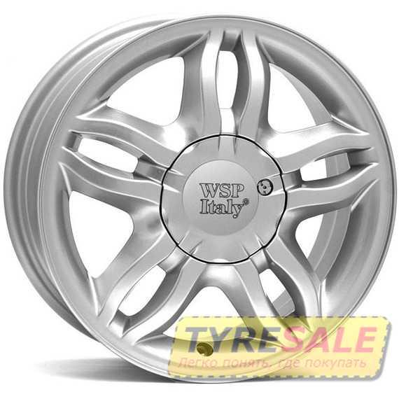 Легковой диск WSP ITALY BORDEAUX W3301 SILVER - Интернет магазин шин и дисков по минимальным ценам с доставкой по Украине TyreSale.com.ua
