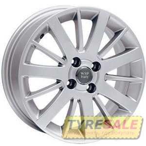 Купить WSP ITALY CALABRIA W153 (SILVER - Серебро) R15 W6 PCD4x100 ET43 DIA56.6