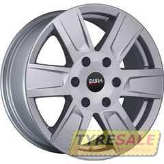Легковой диск DISLA Cyclone 722 S - Интернет магазин шин и дисков по минимальным ценам с доставкой по Украине TyreSale.com.ua