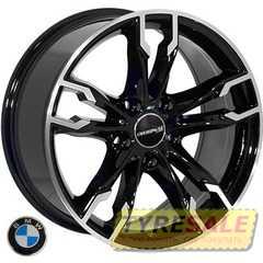 Легковой диск REPLICA BMW BK5255 BP - Интернет магазин шин и дисков по минимальным ценам с доставкой по Украине TyreSale.com.ua