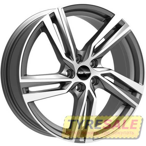 Легковой диск GMP Italia ARCAN Anthracite Diamond - Интернет магазин шин и дисков по минимальным ценам с доставкой по Украине TyreSale.com.ua