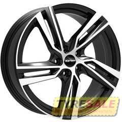 Купить Легковой диск GMP Italia ARCAN Black Diamond R18 W8 PCD5x112 ET25 DIA66.6