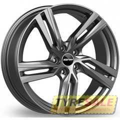 Легковой диск GMP Italia ARCAN Glossy Anthracite - Интернет магазин шин и дисков по минимальным ценам с доставкой по Украине TyreSale.com.ua