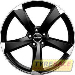 Легковой диск GMP Italia ICAN Satin Black Diamond - Интернет магазин шин и дисков по минимальным ценам с доставкой по Украине TyreSale.com.ua