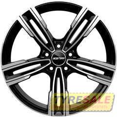 Купить Легковой диск GMP Italia REVEN Black Diamond R18 W8 PCD5x120 ET30 DIA72,6
