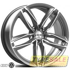 Купить Легковой диск GMP Italia ATOM Glossy Anthracite R19 W8.5 PCD5x112 ET25 DIA66.5