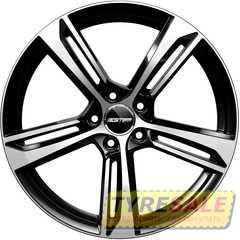 Купить Легковой диск GMP Italia PAKY Black Diamond R18 W8 PCD5x112 ET45 DIA66,5
