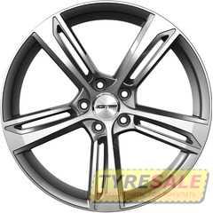 Купить Легковой диск GMP Italia PAKY Anthracite Diamond R18 W8 PCD5x112 ET25 DIA66,5