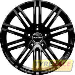 Купить Легковой диск GMP Italia TARGA Glossy Black R20 W10 PCD5x130 ET50 DIA71,6