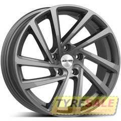Легковой диск GMP Italia WONDER Glossy Anthracite - Интернет магазин шин и дисков по минимальным ценам с доставкой по Украине TyreSale.com.ua
