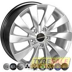 Легковой диск ZW BK438 HS - Интернет магазин шин и дисков по минимальным ценам с доставкой по Украине TyreSale.com.ua