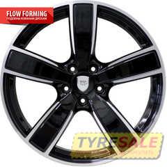 Купить WSP ITALY GOTLAND W1059 GLOSSY BLACK POLISHED R22 W10 PCD5x130 ET48 DIA71.6