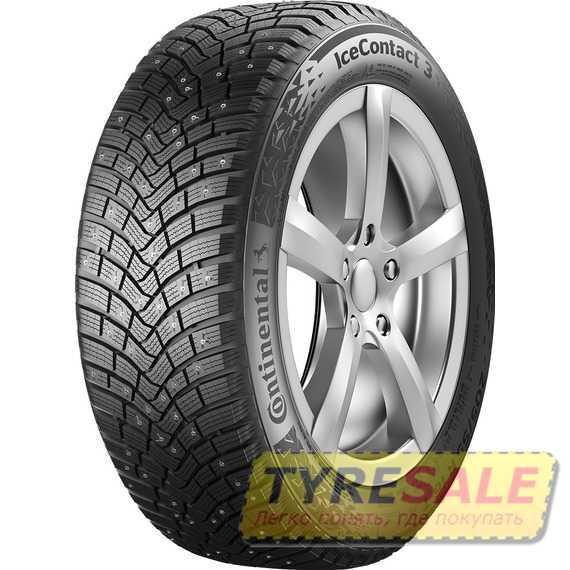 Купить Зимняя шина CONTINENTAL IceContact 3 255/60R18 112T (Под шип)