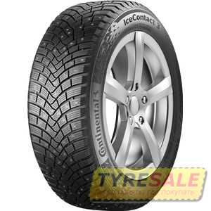 Купить Зимняя шина CONTINENTAL IceContact 3 205/50R17 93T (Под шип)