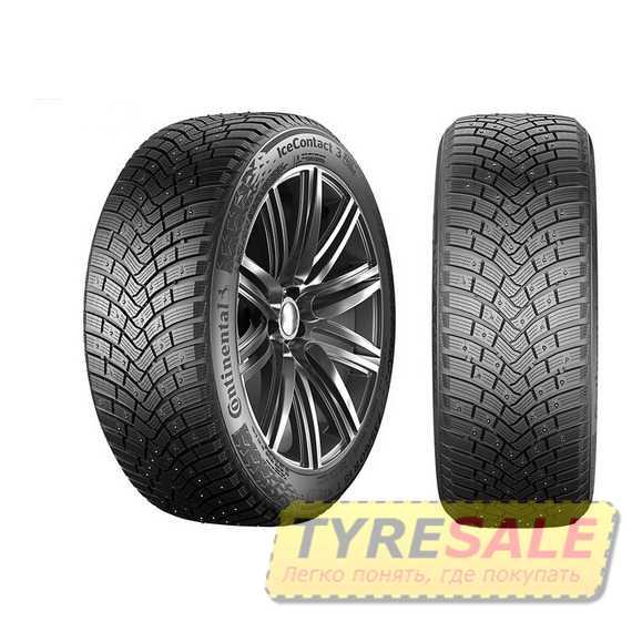 Купить Зимняя шина CONTINENTAL IceContact 3 215/55R18 99T (Под шип)