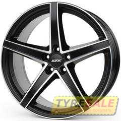 Купить Легковой диск ALUTEC Raptr Racing Black Front Polished R19 W8 PCD5x108 ET45 DIA70.1