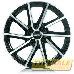 Купить Легковой диск ALUTEC Singa Diamond Black Front Polished R17 W7 PCD5x112 ET49 DIA57.1