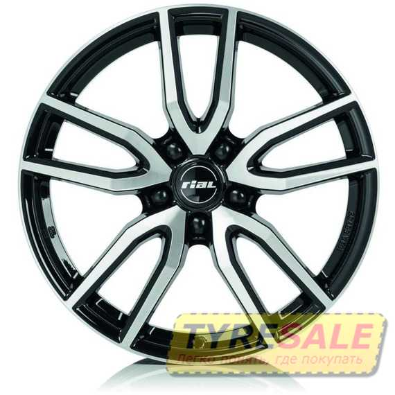 Купить Легковой диск RIAL Torino Diamond Black Front Polished R17 W7.5 PCD5x108 ET48 DIA70.1