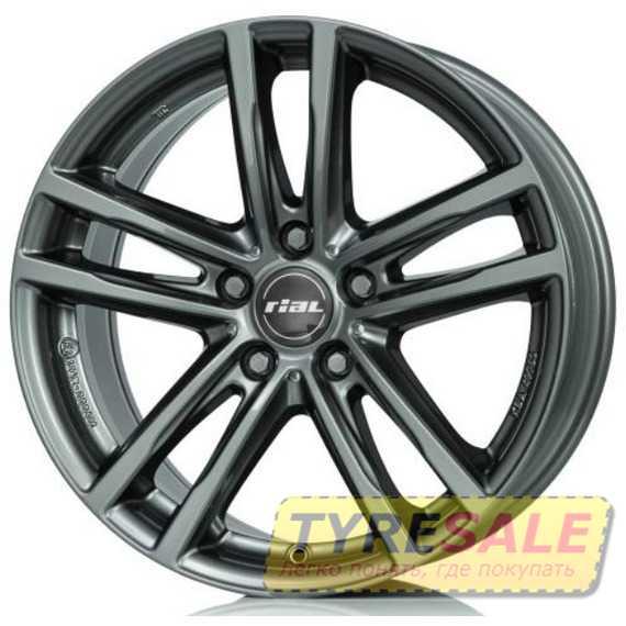 Купить RIAL X10 Metal Grey R17 W7.5 PCD5x112 ET30 DIA66.5