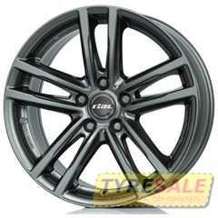 Купить RIAL X10 Metal Grey R18 W7.5 PCD5x112 ET25 DIA66.5