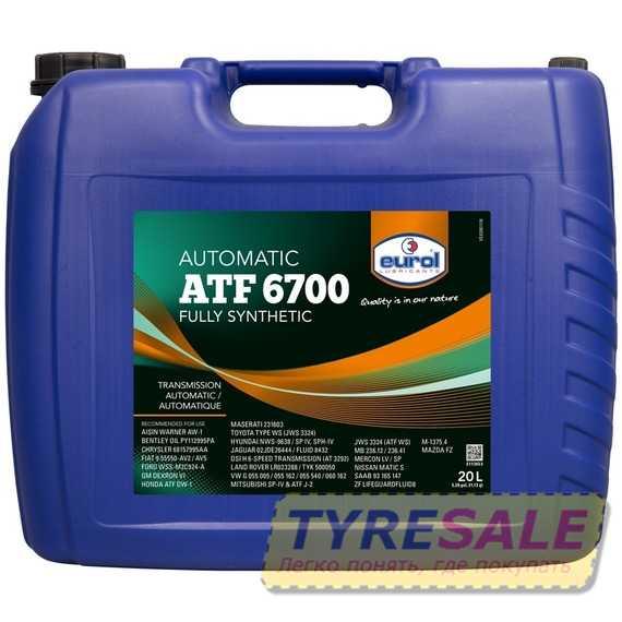 Купить Трансмиссионное масло EUROL ATF 6700 (20л)