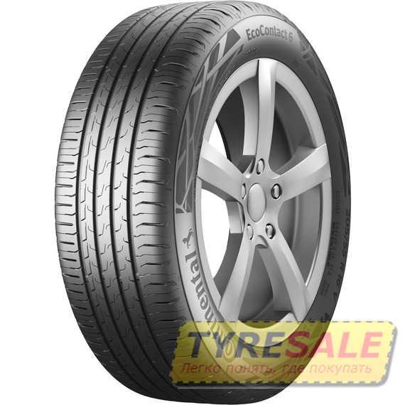 Купить Летняя шина CONTINENTAL EcoContact 6 245/45R18 96W
