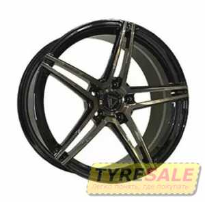 Купить Легковой диск VISSOL FORGED F-1116 GLOSS-BLACK-WITH-DARK-MACHINED-FACE R19 W8 PCD5X112 ET30 DIA66.6