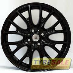 Купить WSP ITALY RIVERS W1653 GLOSSY BLACK R17 W7 PCD4x100 ET48 DIA56.1