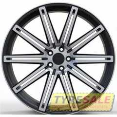 Купить Легковой диск WS FORGED WS587 SATIN_BLACK_WITH_MACHINED_FACE_FORGED R22 W9 PCD5X108 ET45 DIA63.3