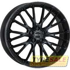 Купить Легковой диск MAK Speciale Gloss Black R23 W10 PCD5x120 ET41 DIA72.6