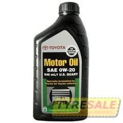 Купить Моторное масло TOYOTA Syntetic Oil 0W-20 (0.946л)