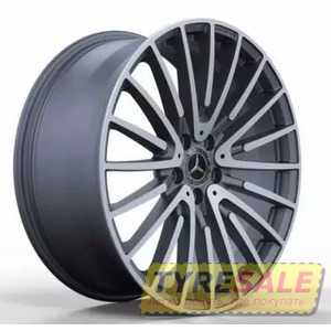 Купить Легковой диск REPLICA FORGED MR565 MATTE-GUNMETALL-WITH-MACHINED-FACE_FORGED R20 W9.5 PCD5X112 ET38 DIA66.6
