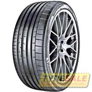Купить Летняя шина CONTINENTAL SportContact 6 255/30R19 91Y Run Flat