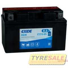 Купить Аккмулятор EXIDE AGM (ETZ10-BS) 8,6Ah-12v (150х87х93) L, EN145