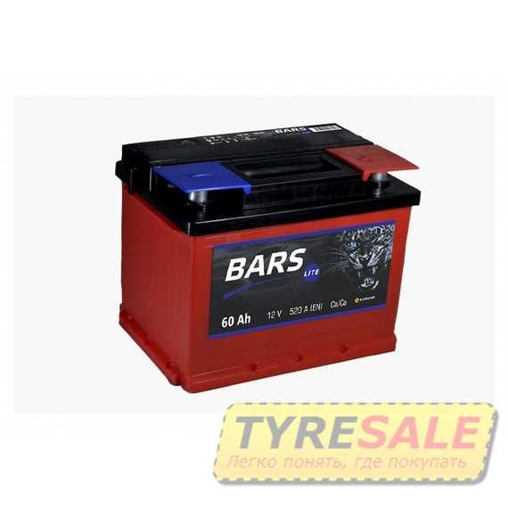Купить Аккумулятор BARS 6СТ-60 Lite R Plus (пт 520)