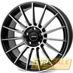 Купить Легковой диск AUTEC Lamera Schwarz matt poliert R17 W7.5 PCD5x100 ET40 DIA70.1