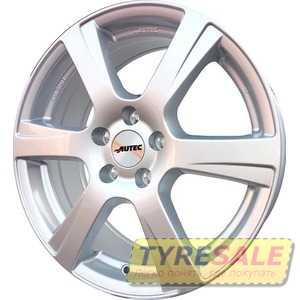Купить Легковой диск AUTEC Polaric Original Brillantsilber R15 W6 PCD5x112 ET43 DIA57.1