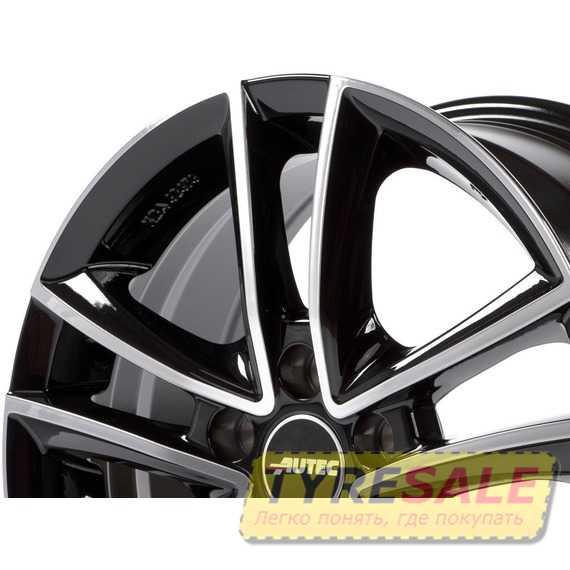 Купить Легковой диск AUTEC Yucon Schwarz poliert R18 W8 PCD5x112 ET35 DIA70.1