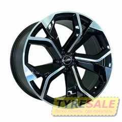 Купить Легковой диск REPLICA FORGED A5758 BKF R22 W10 PCD5X112 ET18 DIA66.6